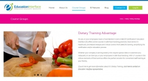 EI Dietary Training Advantage | Food Handler Certification